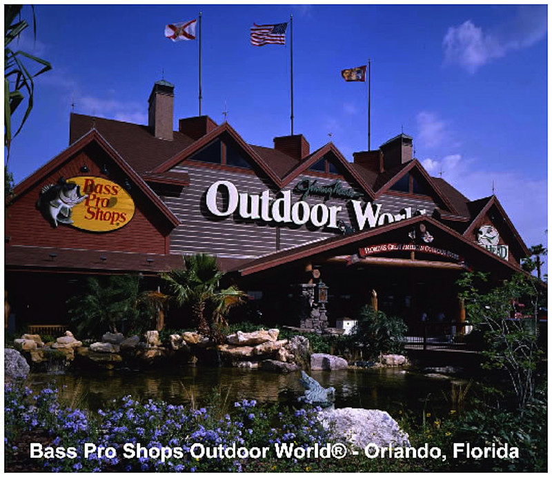 Bass pro shop announces mega outdoor store in tampa for Bass pro shop fishing