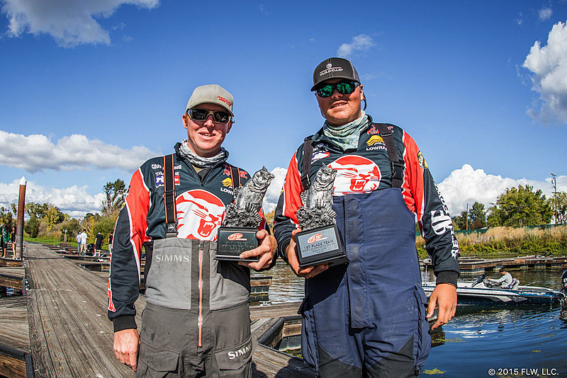 Chico state university wins flw college fishing western for Flw college fishing
