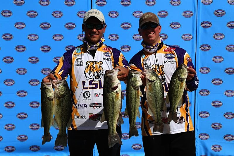 University of north alabama strengthens lead to win the for Cabelas college fishing