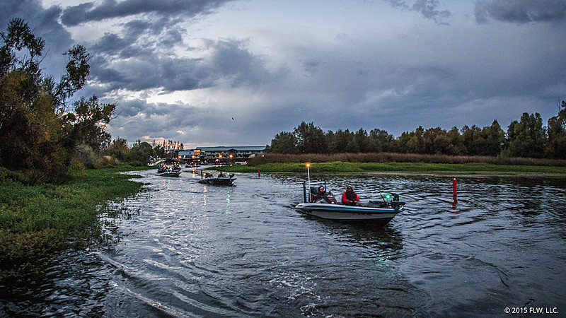 Flw college fishing western conference readies for second for Flw college fishing