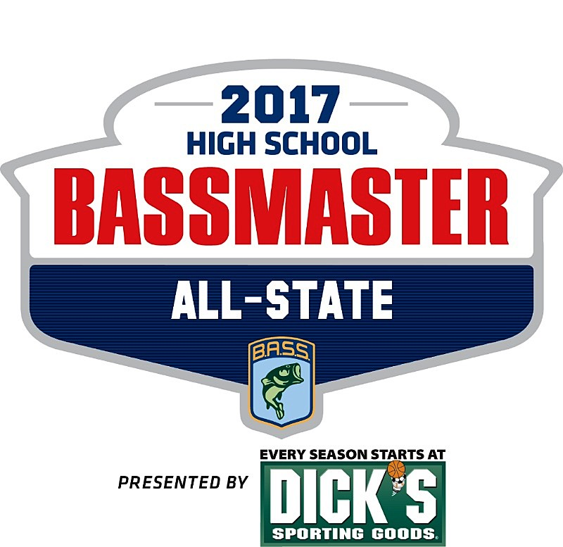 B a s s names students to 2017 bassmaster high school all for Fishing team names